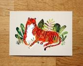 Tiger - giclée print - LAST ONE