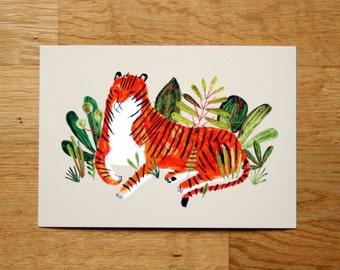 Tiger - giclée print