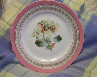Beautiful antique Flower Plate