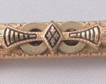 True Victorian Enamel Pin - Pendant Combination