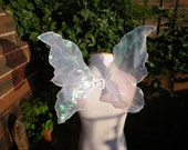 Real White Butterfly Fairy Wings