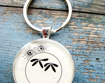 Prophase 2 Mitosis Cell Cycle Silver Keychain/Pendant Series