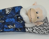 STAR WARS- Doll Sleeping bag for BOYS best friend - 18 inch doll bedding