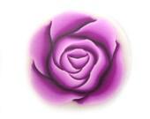 Fimo Cane Polymer Clay Cane Purple Rose Millefiori Cane