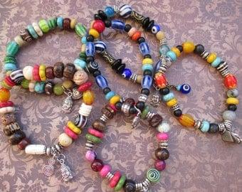 beaded buddah braceletS...