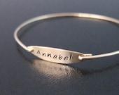 Custom Name Bracelet, Gold Name Bracelet, Personalized Name Bracelet, Name Bangle Bracelet, Bracelet With Name, Personalized Name Jewelry