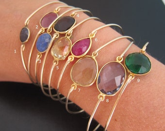 Select a Gemstone Bangle Bracelet, Gemstone Bracelet, Gemstone Jewelry, Gorgeous Bracelet, Gorgeous Jewelry, Gem Bangle, Gem Bracelet
