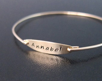 Custom Name Bracelet, Gold Name Bracelet, Personalized Name Bracelet, Name Bangle Bracelet, Bracelet With Name, Personalized Name Jewelry