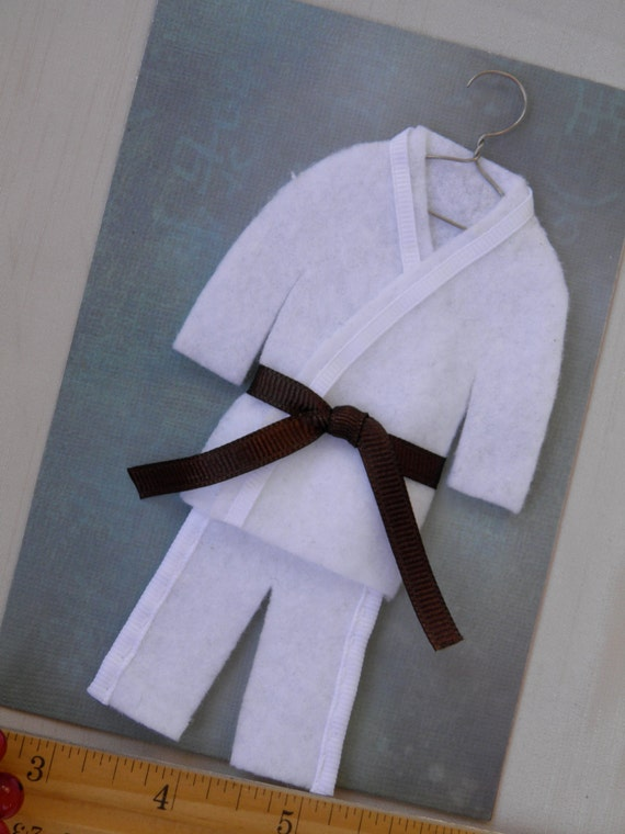 brown belt martial arts personalized by christmasgal