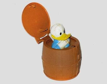 Donald Duck Pop Pal, Pop Pals, Donald Duck Collectibles, Disney Collectibles, Disney Memorabilia, Donald Duck by NewYorkMarketplace on Ets
