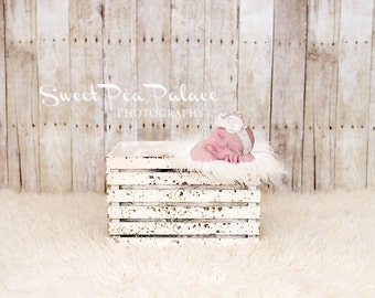 Newborn Baby Child Photography Prop Digital Backdrop for Photographers White Washed