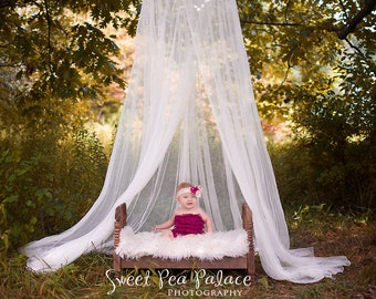 Newborn Baby Child Photography Prop DIGITAL  Backdrop for Photographers - Forest Canopy