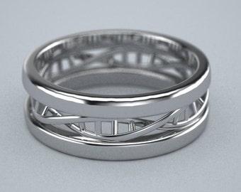 Palladium 950 DNA ring