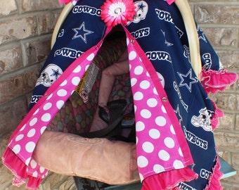 Car seat canopy Dallas Cowboys