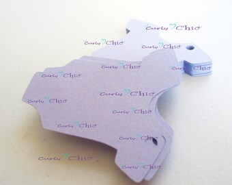 """20 Baby Bodysuit Tags Size 2"""" -Baby Bodysuits tags -Paper Baby shirt die cuts -Cardstock Baby shower die cuts -Custom Bodysuit labels"""