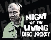 Night of the Living DJ Zombie Magnet