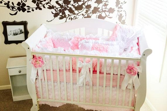 Custom Baby Bedding Baby Girl Bedding By Ritzybabyoriginal
