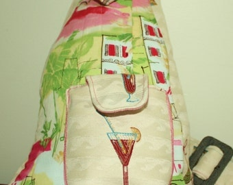 California Beach Bag or Sidepack.Spring Sale.