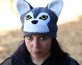 Wolf Fleece Hat