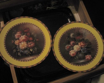 Veronica collection plates Limoges France