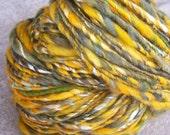 Reserved for Melanie--Handspun Art Yarn
