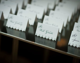 Lacy placecards