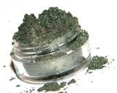 WOODLAND  Shimmery Moss Green Eyeshadow 5 Gram Sifter Jar