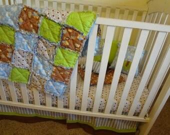 Lavender Grey Yellow Custom Crib Baby By Sunlightbabybedding
