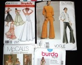 LARGE LOT of Sewing Patterns Womens Size 12-20 Formal Dresses, Jackets and Skirts