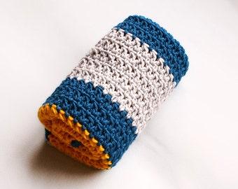 Chamomile - Bulky Newborn Baby Blanket - Crochet Blanket Pattern - Crochet Afghan Pattern - Newborn Baby Blanket - Gender Neutral Blanket