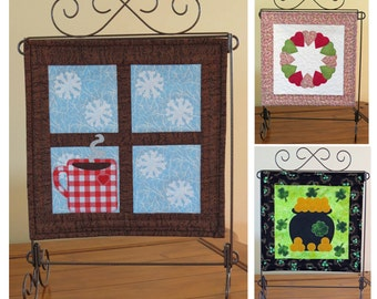 First Seasonal Trio - mini quilt pattern QCP-101