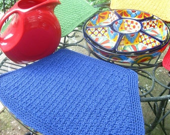 Mesa de Fiesta Placemats - PDF crochet pattern