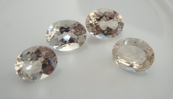 Exquisite Imperial Topaz Matched Pair NOT Drilled