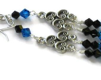Swarovski Crystal Chandelier Earrings, Graduation Gifts, Gifts for Women Mom Wife Sister Daughter Grandma Under 25, Stocking Stuffers