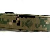 US Navy Type Three III 3 Digital Camo Green Dog Collar Camouflage USN