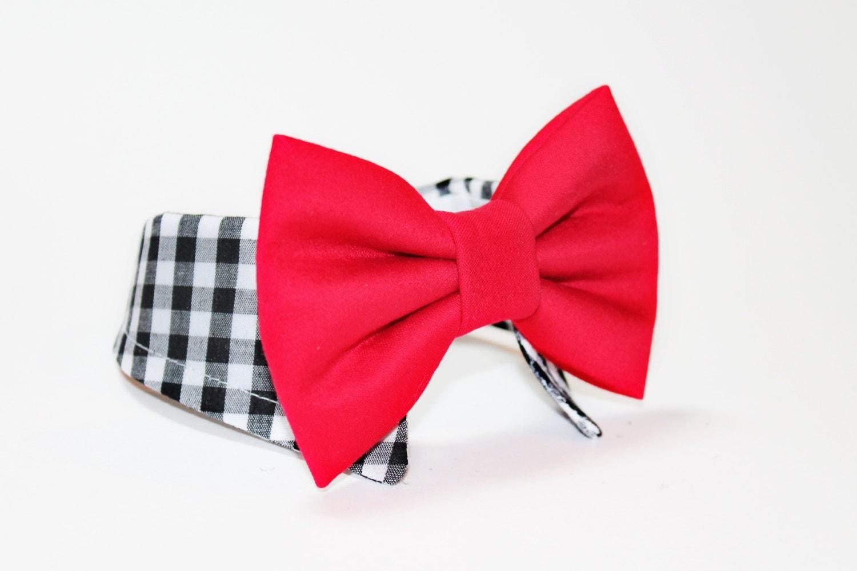 Dog Bow Tie Shirt And Bow Tie Collar Wedding Dog Tie