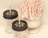 PRINCESS PINK PAPER PARTY STRAWS GIRLS PROM  PARTY KIDS PARTY STRAWS 25//50//250