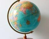 Vintage Cram's Imperial World Globe