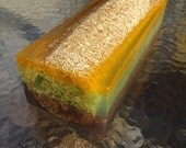 Bamboo & White Grapefruit Loofah Soap Loaf