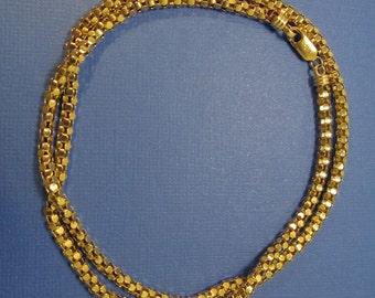 14K Gold Necklace Vintage