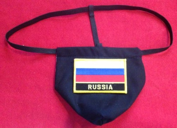 Items Similar To Mens RUSSIA Winter Olympics G-String
