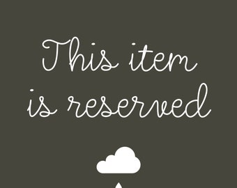 Reserved Listing for NM