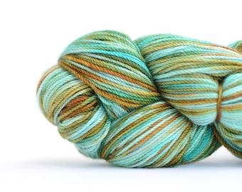 Superwash Merino and Cashmere Sock Yarn- Hand Dyed - 115g