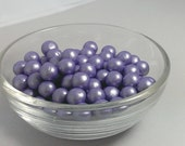 Fondant Edible Pearls - Radiant orchid edible pearls - wedding cake decoration , cupcake topper, cookie decoration