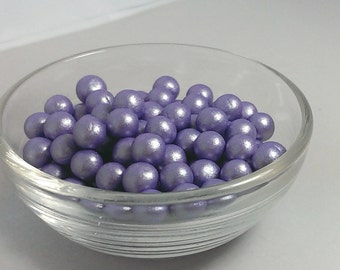 edible silver pearls for wedding cake items similar to fondant edible pearls mix of colors 13915
