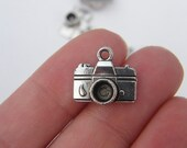 8 Camera charms tibet silver P203