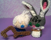 Amigurumi Jack Frost and Bunny Two Pack