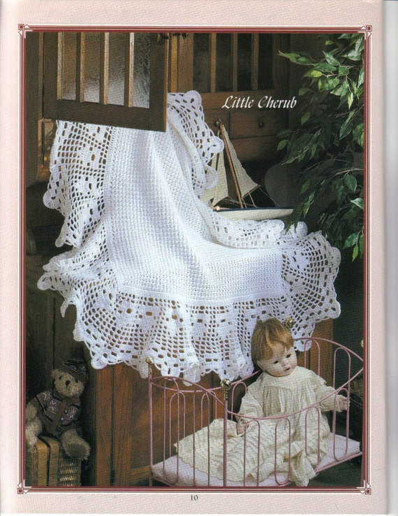 CROCHET PATTERN Heirloom Baby Afghan//Blanket/Shawl by ...