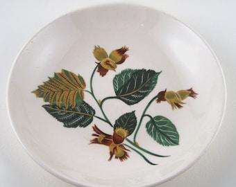 vintage floral bowl - universal china bowl - hazelnut - universal ballerina china