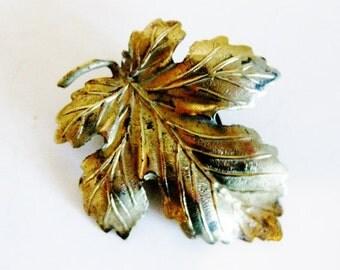 Vintage Brass Dress Clip